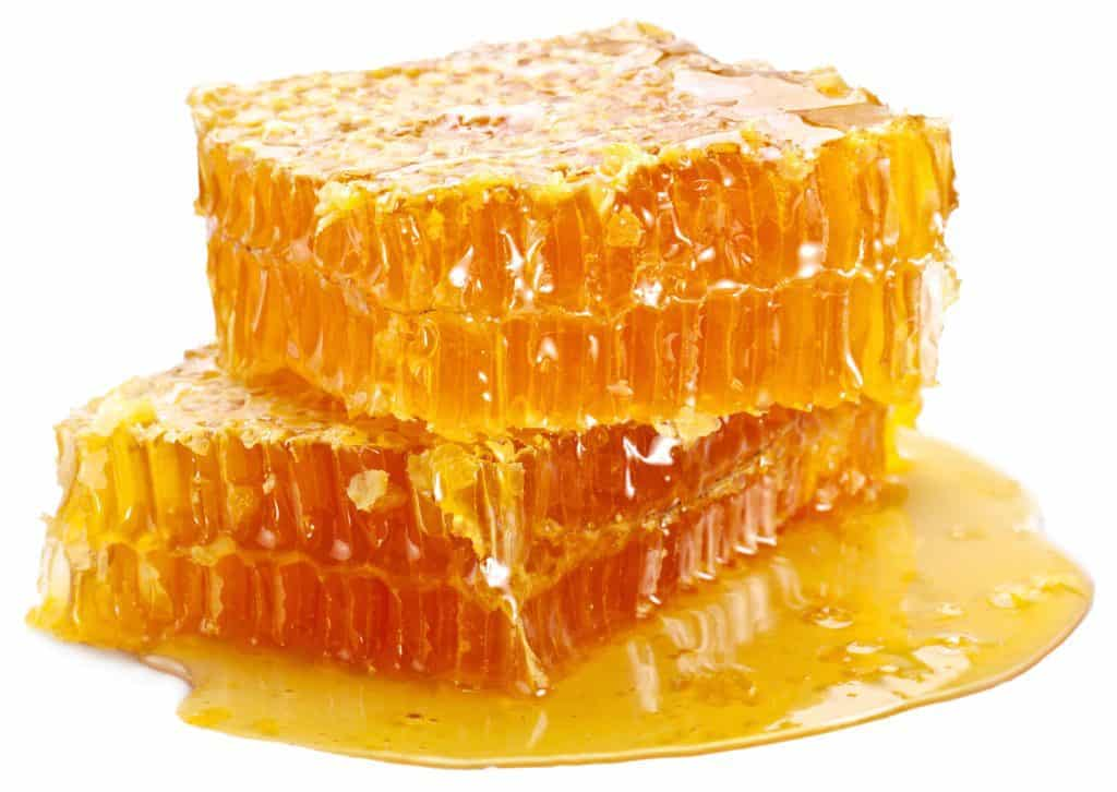delicious square of honeycomb