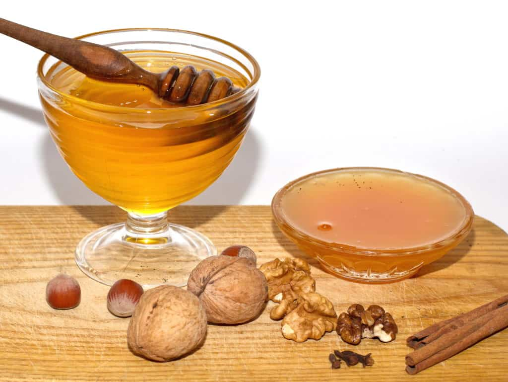 light-and-brown-honey